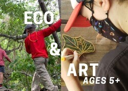 This image has an empty alt attribute; its file name is ECOART_ForestSchool.jpeg